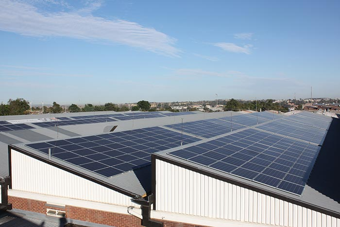 Wahl Industries - Solar Power Installation